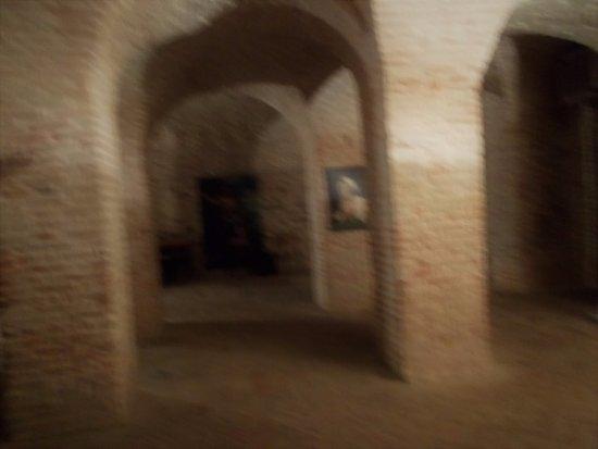 Lago di Mercatale - Sassocorvaro: Il sotterraneo della fortezza