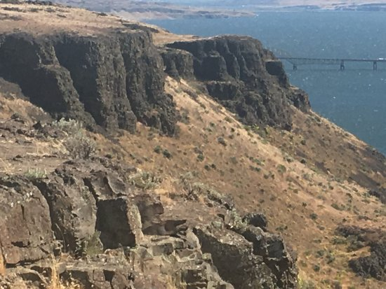 Ephrata, WA: Columbia River at Wild Horse Monument
