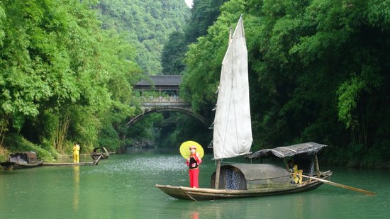 Chongqing, Cina: At Water Village
