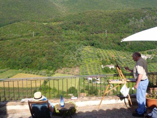 Casperia, Italia: Terrace