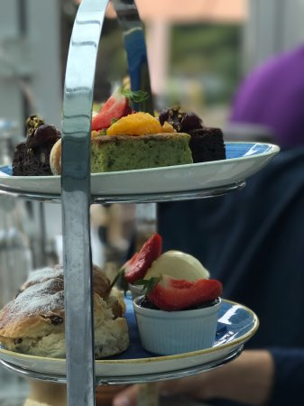 Porthallow, UK: Afternoon tea