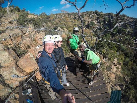 Magaliesberg Canopy Tour: Group photo