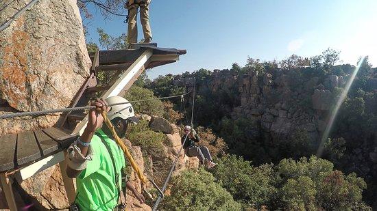 Magaliesberg Canopy Tour: incoming