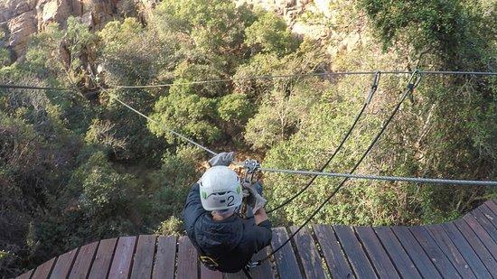 Magaliesberg Canopy Tour: ready to go