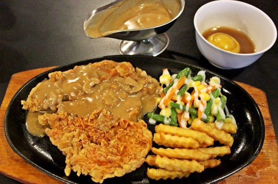 Crispy Chicken Steak Picture Of Terrazza Steak House