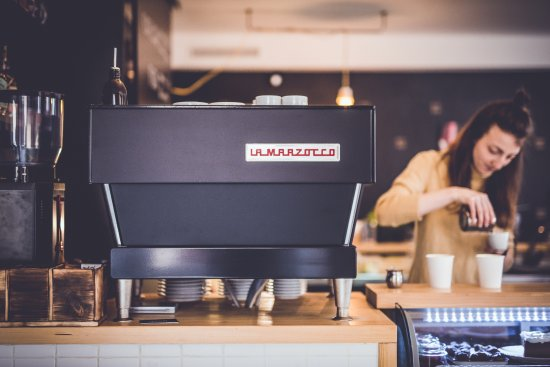 Sumperk, Czech Republic: La Marzocco