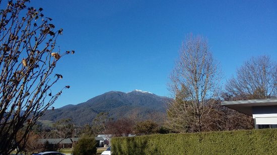 Mount Beauty, Australia: View from room