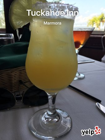 Marmora, NJ: Menus and my margarita