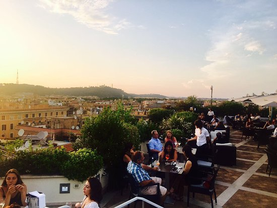 Photo0 Jpg Picture Of Roof Garden Les Etoiles Rome