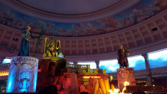 Fall of Atlantis at Caesars Palace Forum Shops