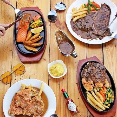 Salmon Steak With Cajun Sauce Best Seller Picture Of