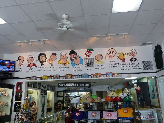 Chester, IL: Popeye and all his friends