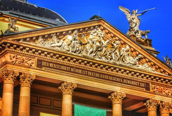 Staatstheater und Oper: Staatstheater Wiesbaden