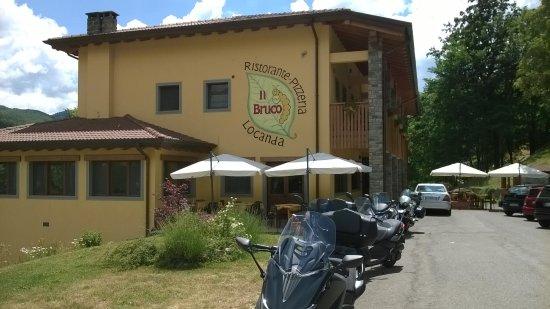 Fiumalbo, Italia: ristorante 3