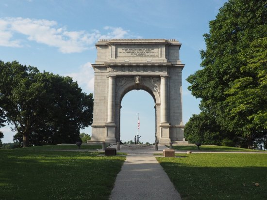 ‪National Memorial Arch‬