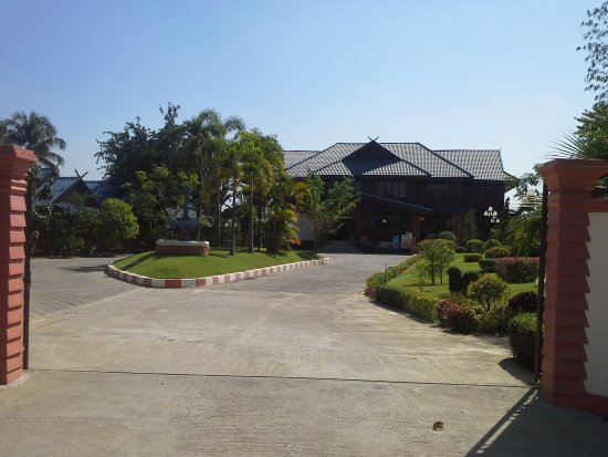 Mae Sot, Tajlandia: วิวโรงแรมมองจากด้านหน้า