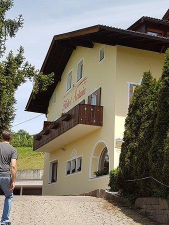 Hotel Solaia: Auffahrt