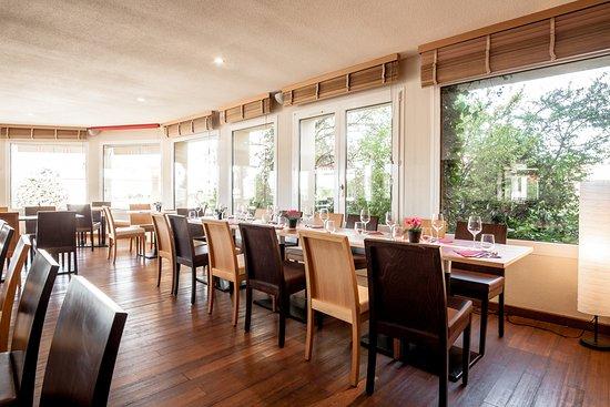 Pouzilhac, France: Le restaurant de la Closeraie