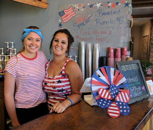 Bellevue, ID: 4th of July Fun at The Coffee Corner!