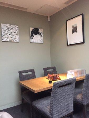 Ikeda: Inside the restaurant