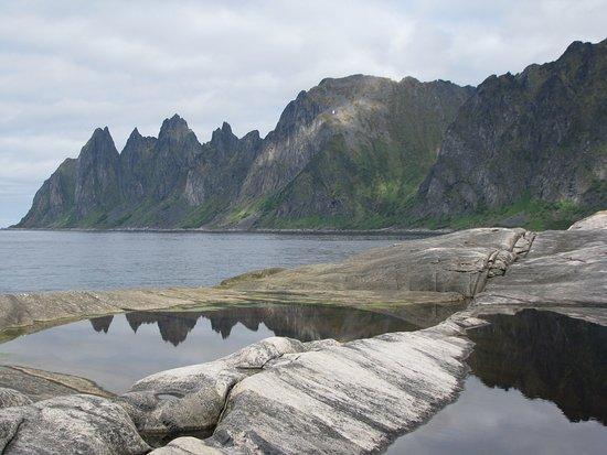 Senja, Noorwegen: Mjuka klipphällar perfekt för en fika eller lunch
