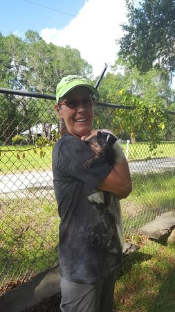 Chipley, Флорида: Seacrest Wolf Preserve