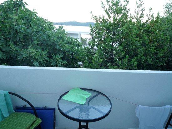 Balkon Brak Suszarki Sznurek Mój Przywiązany Do