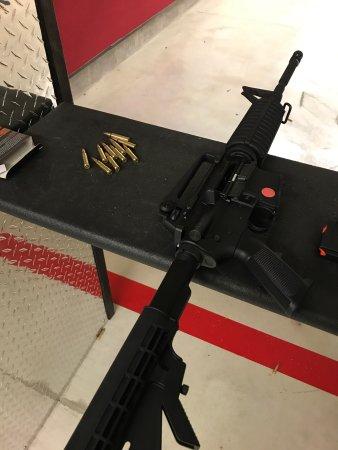 Seaville, NJ: Trip to Full Metal Jacket Gun Range
