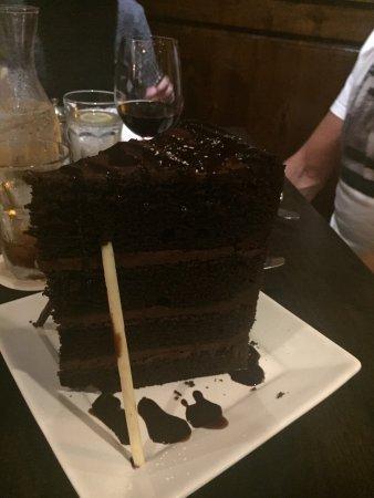 Le Bon Gâteau Au Chocolat Picture Of Taste Of Texas Restaurant