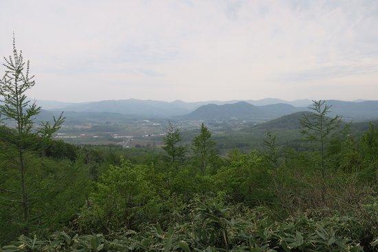 Akaigawa-mura, Japão: 展望所からの眺め