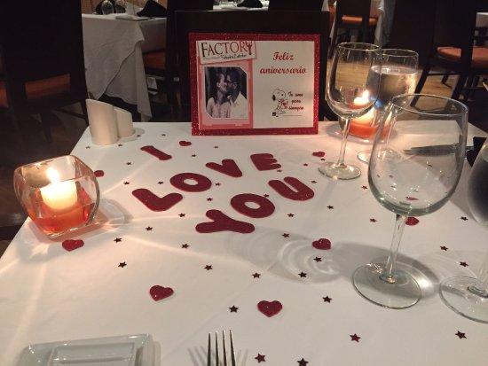Factory Steak & Lobster: Detalles que hacen la Diferencia!