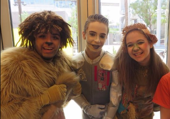 Mesa, AZ: Oz! (Cowardly Lion, Tin Woodsman, Scarecrow)
