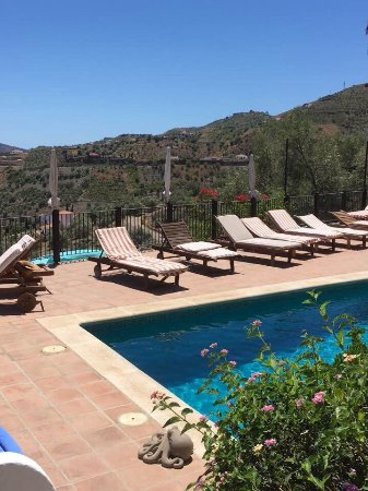 Hotel Finca el Cerrillo: There is a gem at every turn at this beautifully designed restored farmhouse. Unique and extraor