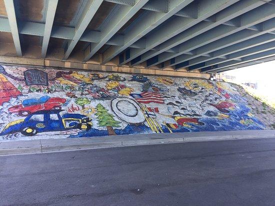 Bay City, MI: Webinar Park bridge