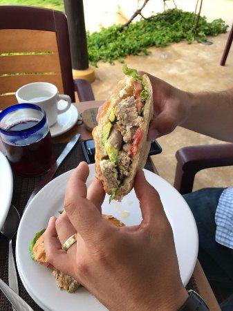 Salchi, Meksika: Yumm!! Torta de pescado!