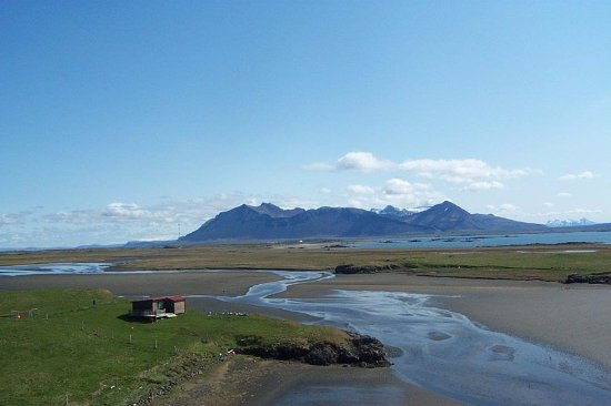 Borgarnes, Iceland: And more of the mountain