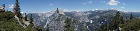 Yosemite Close Up Tours: Panoramic from Glacier Point