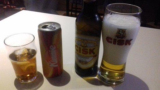 The little waster bar: Birra e bibita