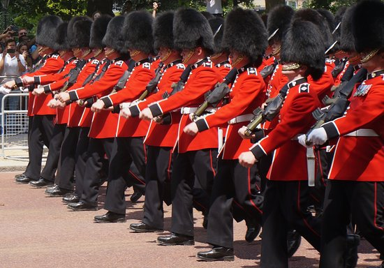 Trooping the Colour : One of the Household Cavalries on parade on The Mall