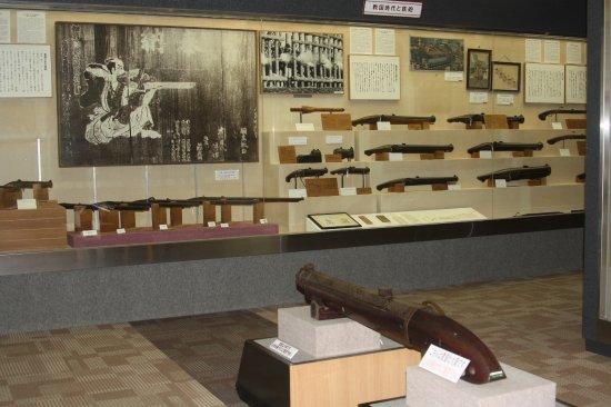 Nishinoomote, Japón: 戦国時代と鉄砲
