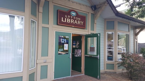 Lytton Library, Thompson-Nicola Regional Library