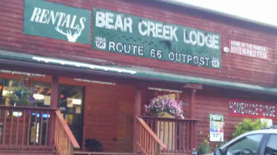 Bear Creek Lodge: Stayed here 7/1/2017