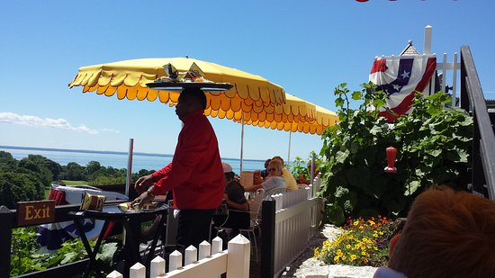 Fort Mackinac Tea Room A Lovely Fourth Of July Luncheon