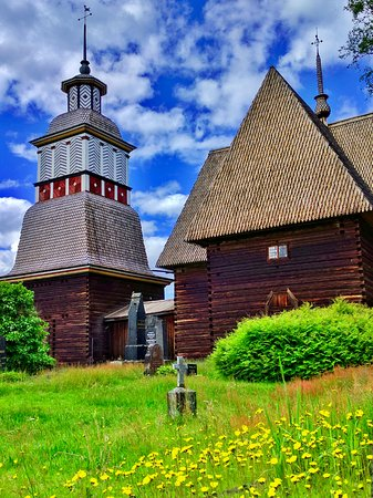 Petajavesi, Finland: View from church cemetary
