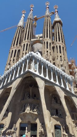 Baslica de la Sagrada Familia  Picture of Basilica of the
