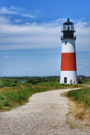 Star of the Sea Hostel: Lighthouse on the island