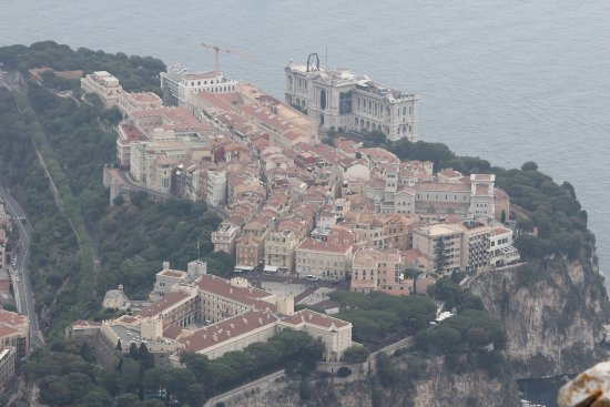 View to old town of Monaco - ...