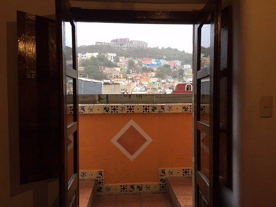 Hotel Real Guanajuato: Vista de la habitación