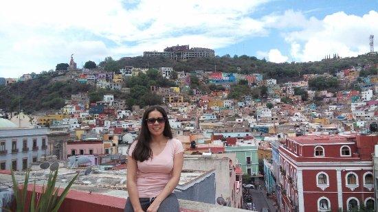 Hotel Real Guanajuato: Terraza del hotel