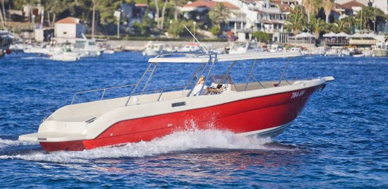 Hvar, Croazia: Our boat Enzo 35